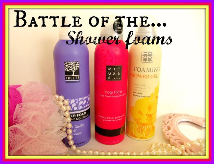 Battle of the shower foam s