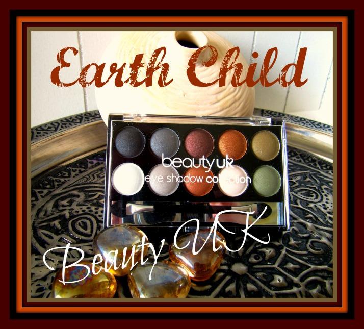 Beauty UK Earth Child oogschaduw Palette