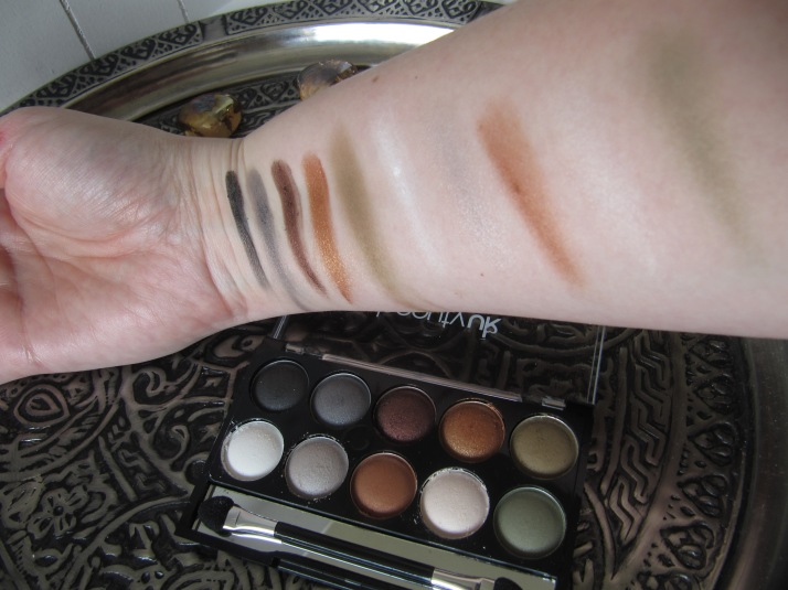 Swatches Earth Child Beauty UK
