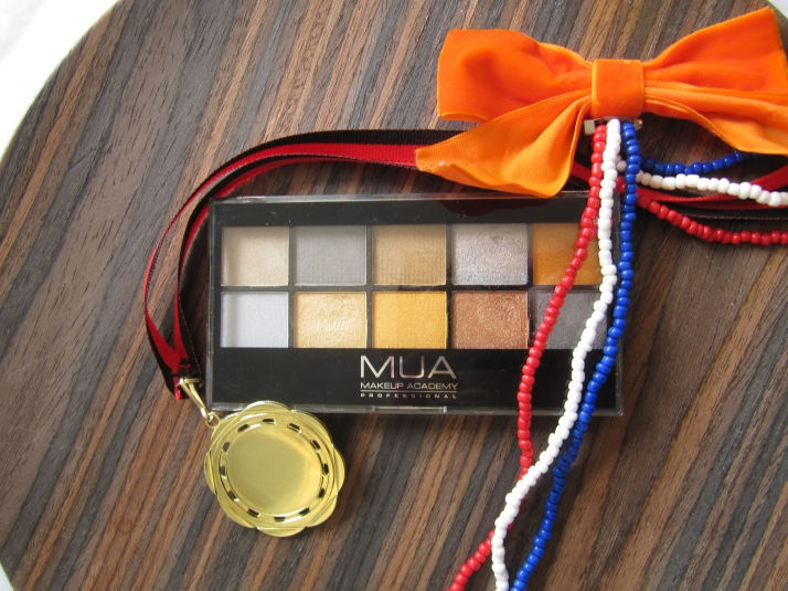 MUA Going for Gold Palette