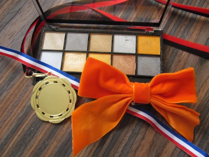 Olympische goud Palette