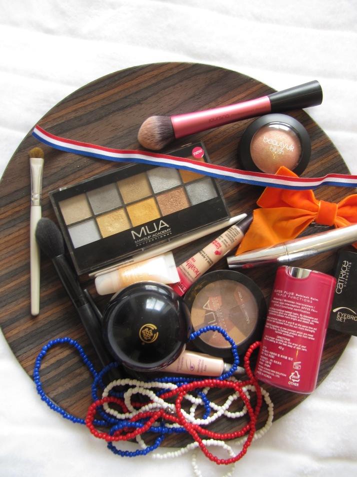 MUA, skin79, dr pierre ricaud, beauty UK, Bourjouis, The Bodyshop,