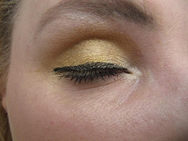 Olympisch goud ooglook