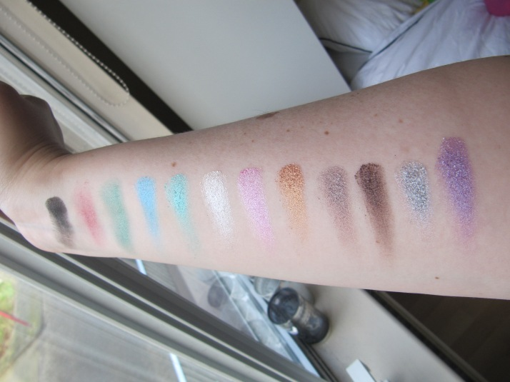 Swatches Make up Academy Glitterball