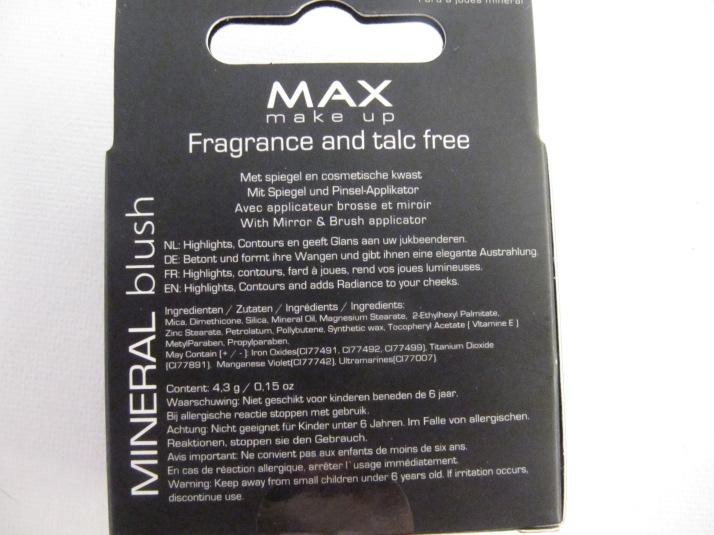 MAX Make-up