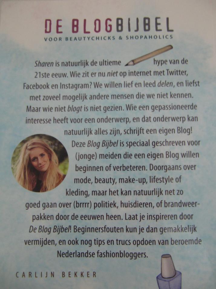 Blogbijbel Carlijn bekker