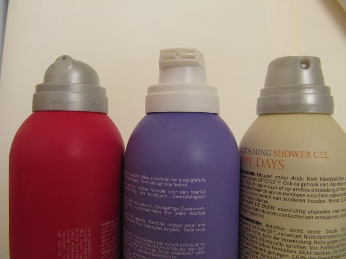 Shower foam battle