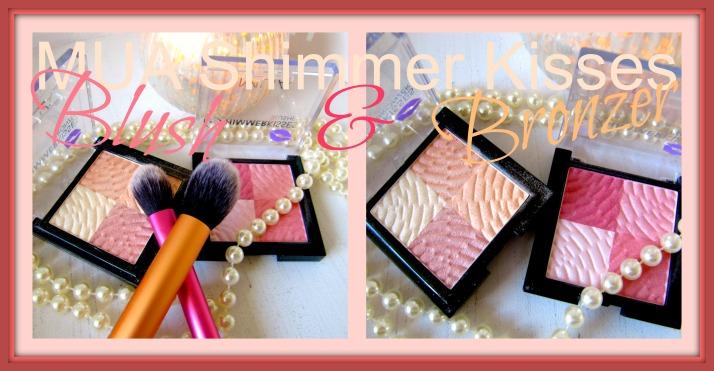 MUA Make up Academy Shimmer Kisses Blush & Bronzer