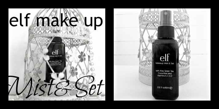 E.L.F. make-up mist & set