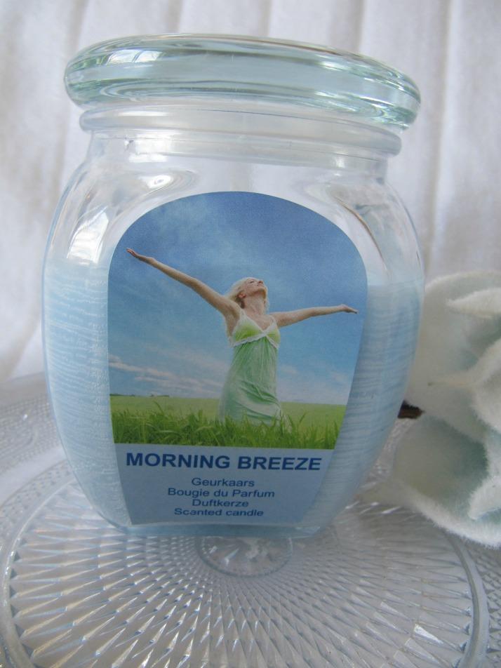action geurkaars morning breeze