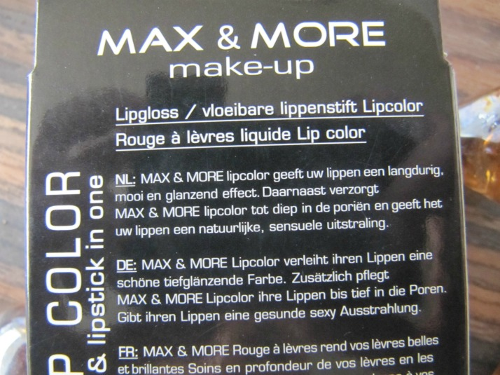 action max and more lipgloss