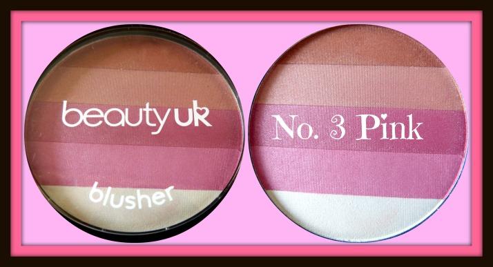 Beauty UK Blush No. 3 Pink