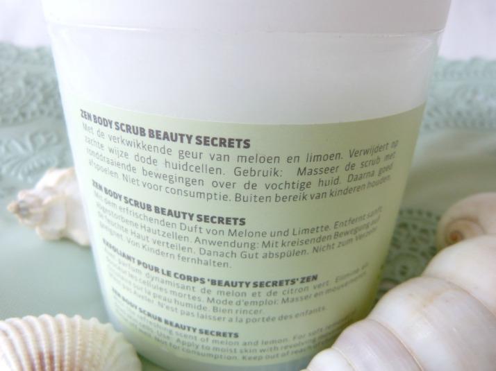 bodyscrub beauty secrets Action Uitleg
