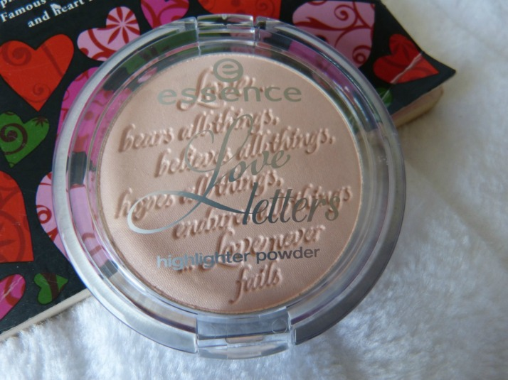 essence Love Letters Highlighter 01 Love Poem
