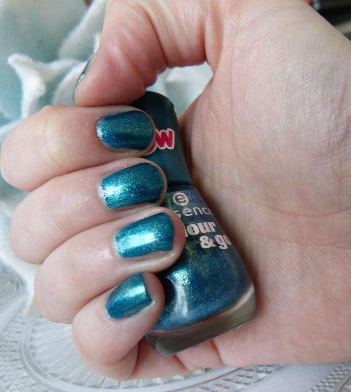 Galactic Glam op mijn nagels