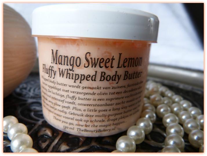 Mango sweet Lemon fluffy whipped body butter