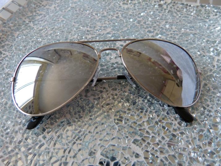 piloten bril action zilveren glazen!