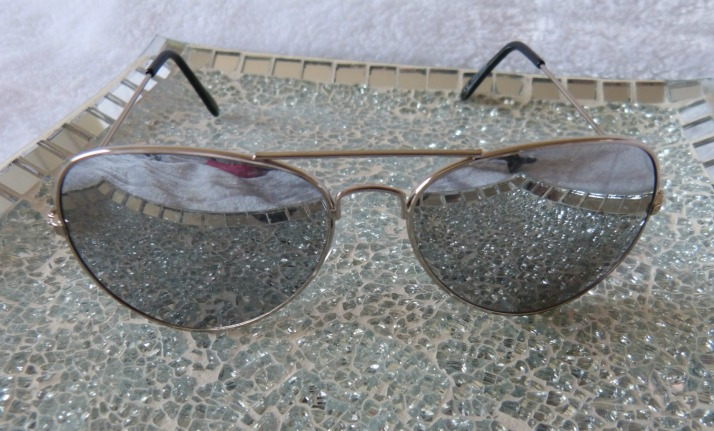 piloten bril zilveren glazen!