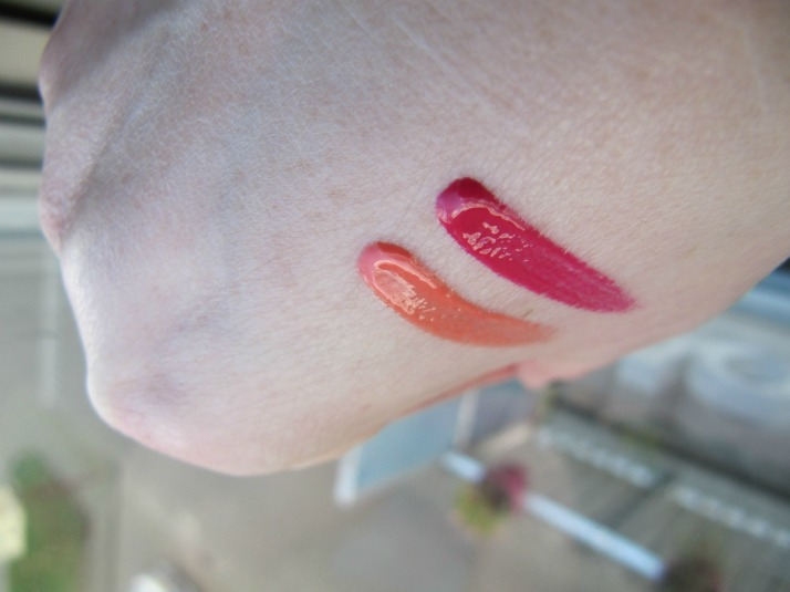 swatches action lipgloss