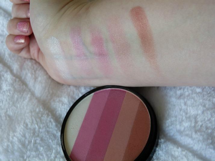 Swatches Beauty UK Blush 03 pink