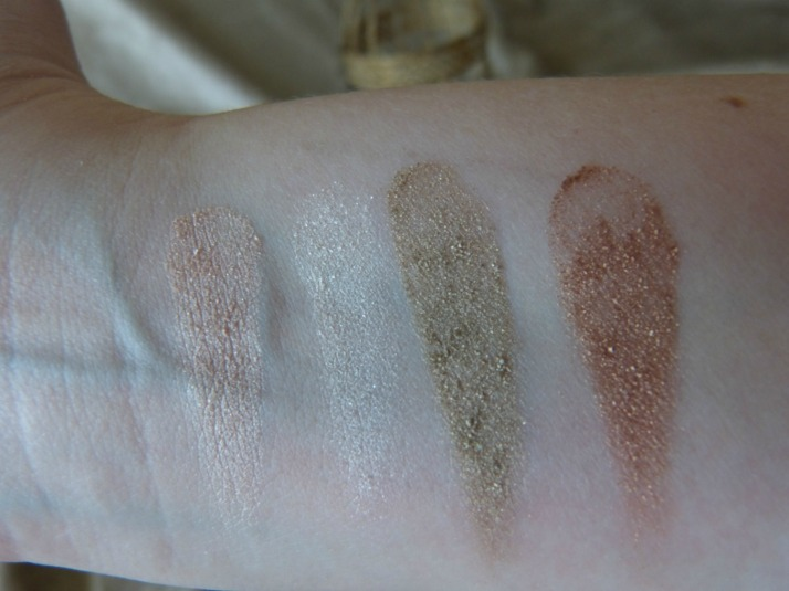 swatches e.l.f oogschaduw
