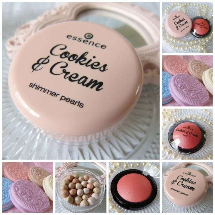 essence cookies & Cream collage