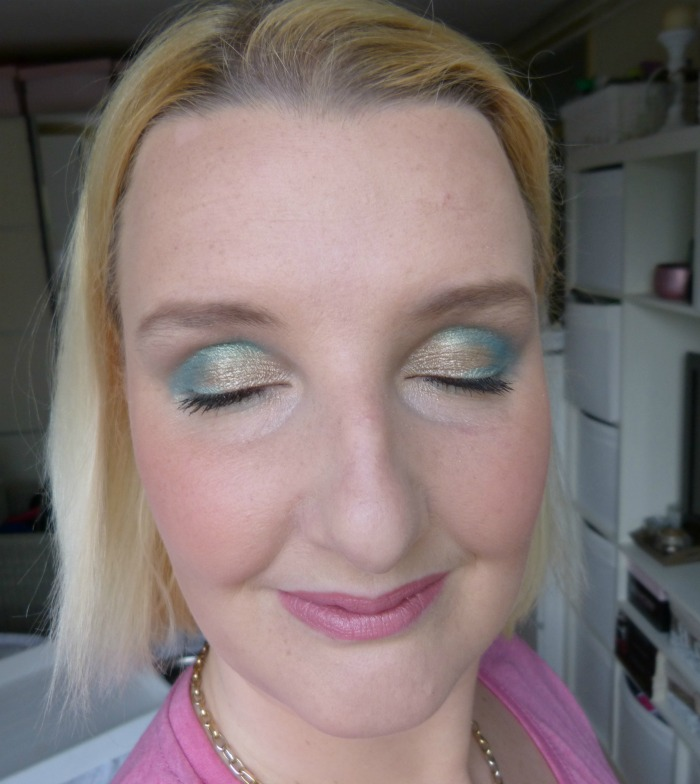 Look met MUA Glamour Days palette