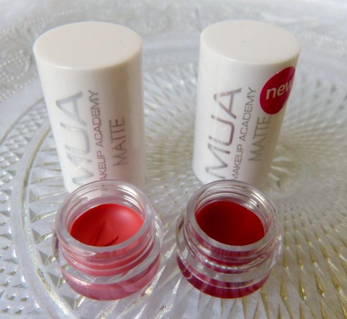 Matte Lippenstiften MUA