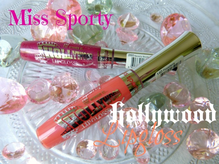 miss sporty Hollywood Lipgloss