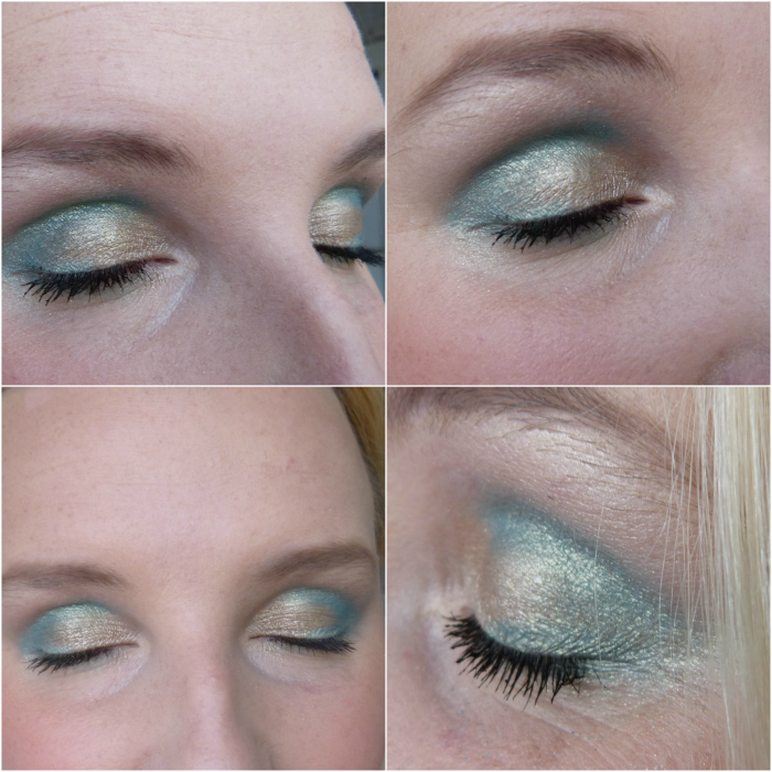 MUA Look Glamour days palette