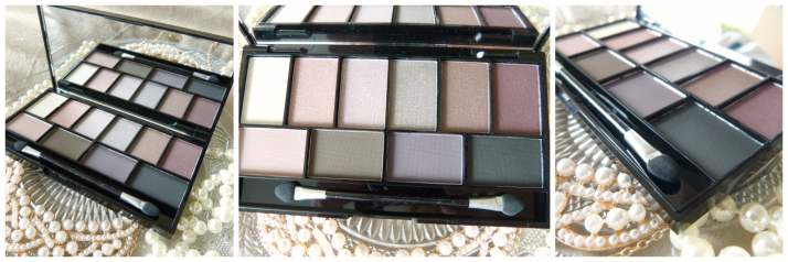MUA Pretty Edgy Eyeshadow palette ...