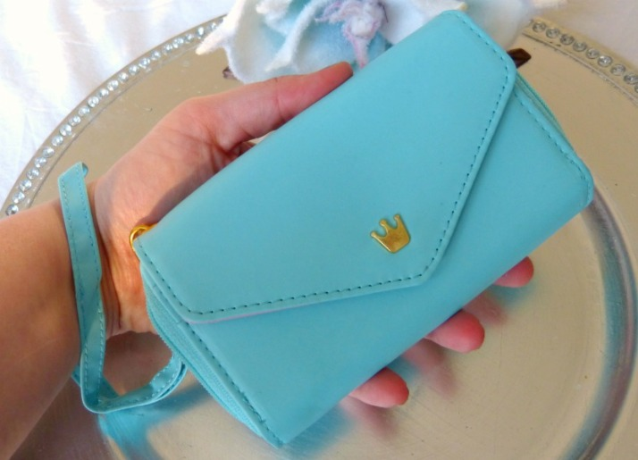 phone wallet mint groen