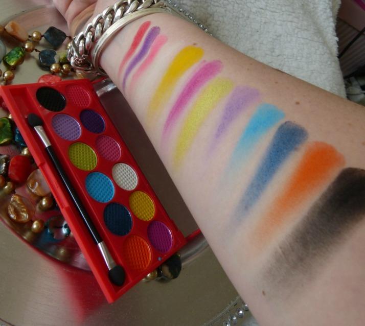 Sleek Circus Palette Swatches