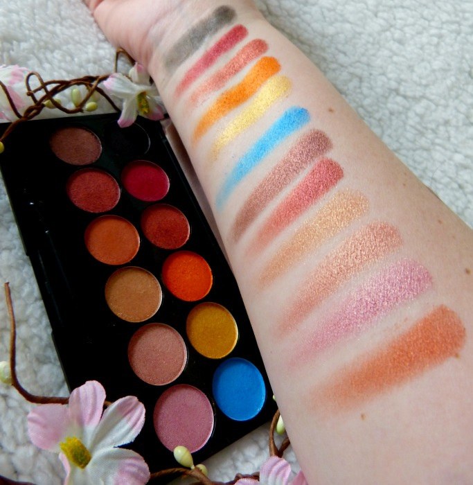 swatches sleek sunset palette