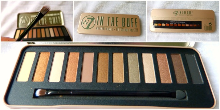 W7 In The Buff Palette, dupe Naked 2 urban decay