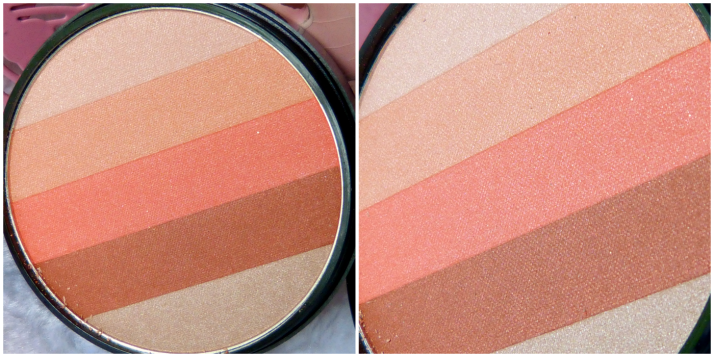 blush Beauty Uk No 4. Orange stiped blush highlighter
