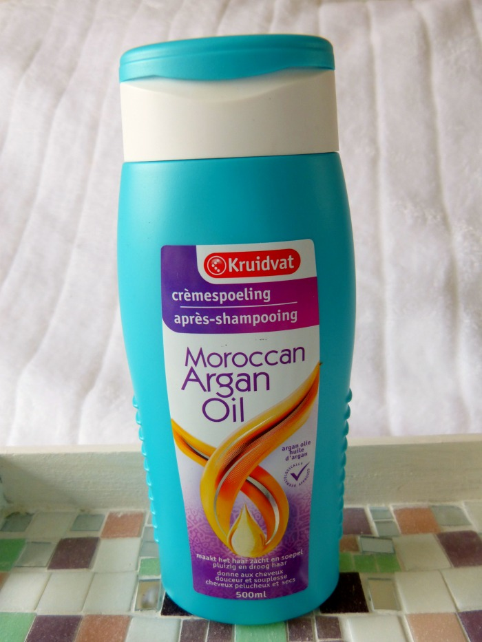 crèmespoeling Kruidvat Moroccan Argan Oil