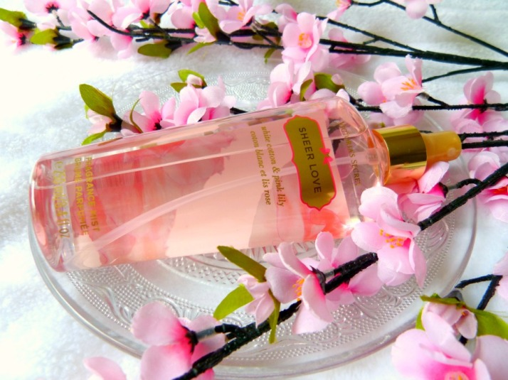Fragrance Mist Victoria's Secret Sheer Love.....