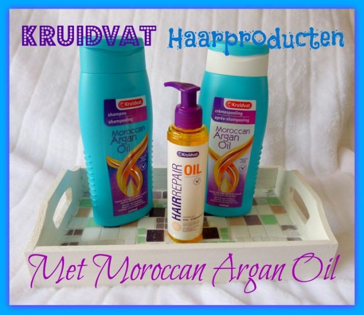 Kruidvat Haar producten met Argan Olie