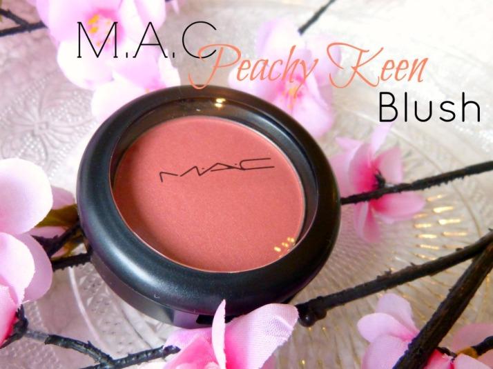 M.A.C. Peachy Keen Blush Review