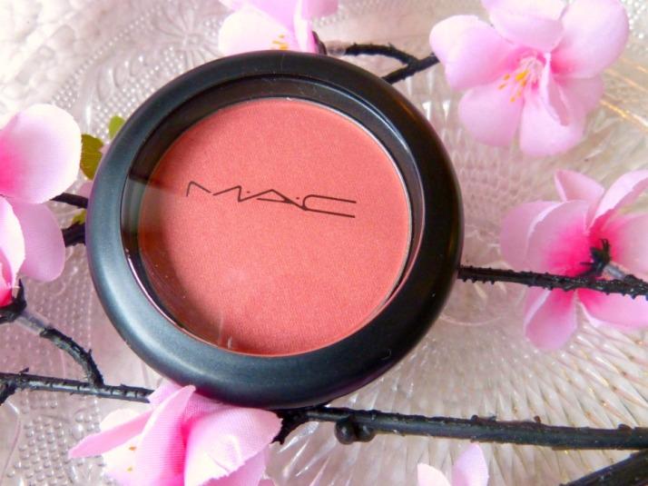 MAC Blush Peachy Keen review