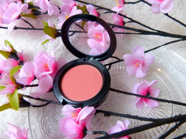 MAC Blush Shimmer Tone Blush Peachy Keen