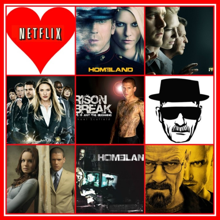 Netflix serie tips Homeland Breaking Bad Heisenberg Prison Break Fringe