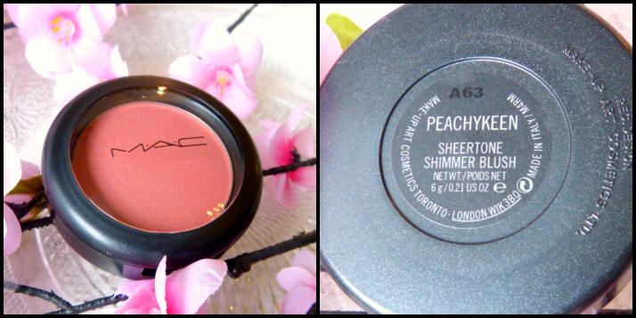Peachy Keen Sheertone Shimmer Blush MAC M.A.C.