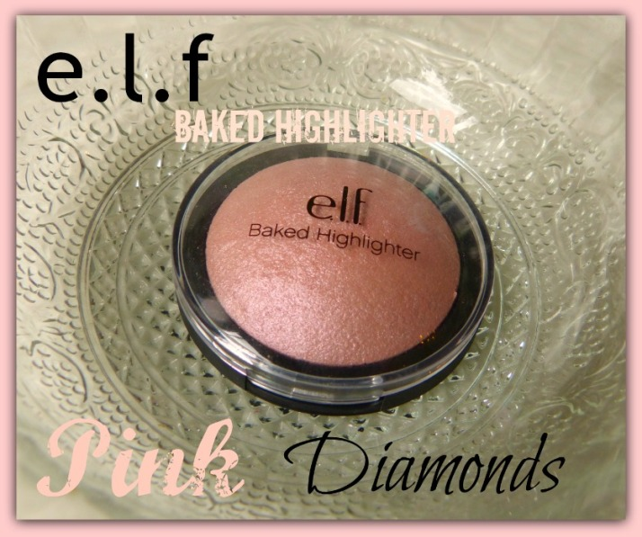 Pink Diamonds Baked Highlighter eyes lips face