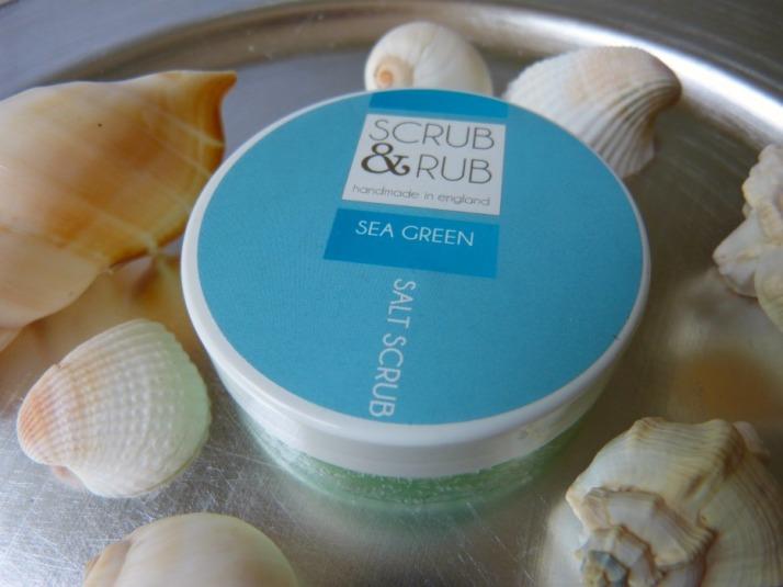 scrub zout scrub & Rub handmade in England