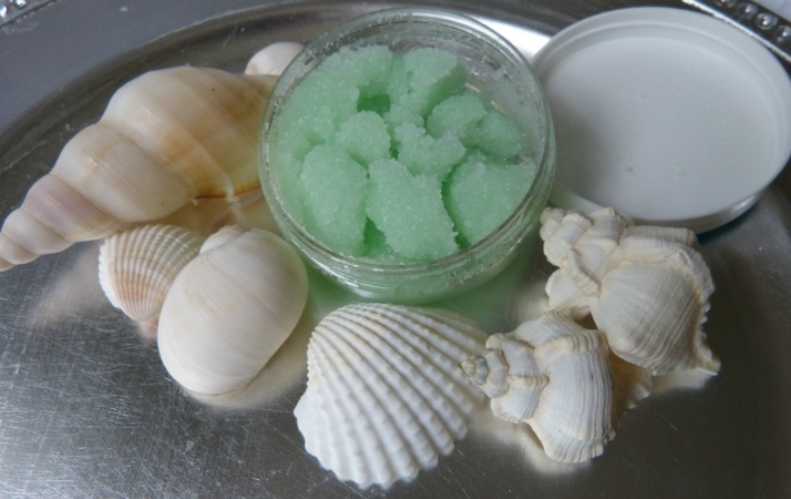 scrub zout sea green
