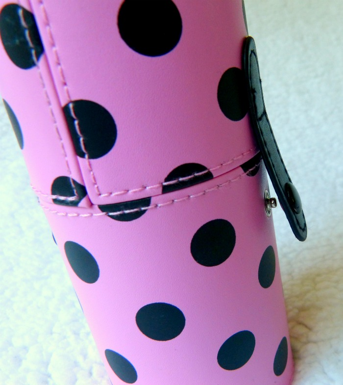 sluiting Bh cosmetics kwastenset polka dot