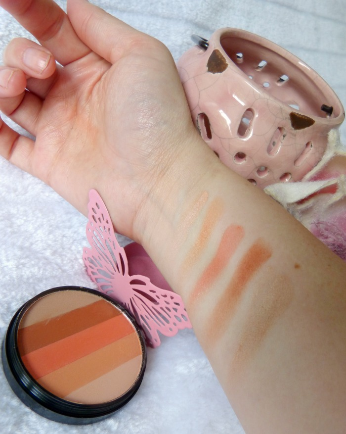 swatches Blush Blusher Beauty Uk Orange