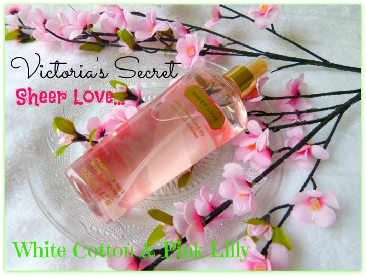 Victoria's Secret Sheer Love Fragrance Mist